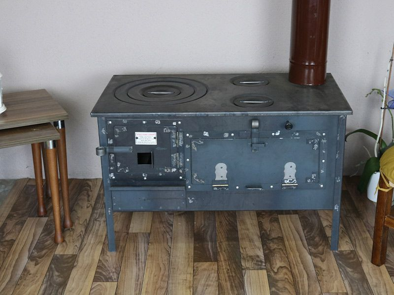S-1007  Kalın Siyah Kuzine (80 Cm)